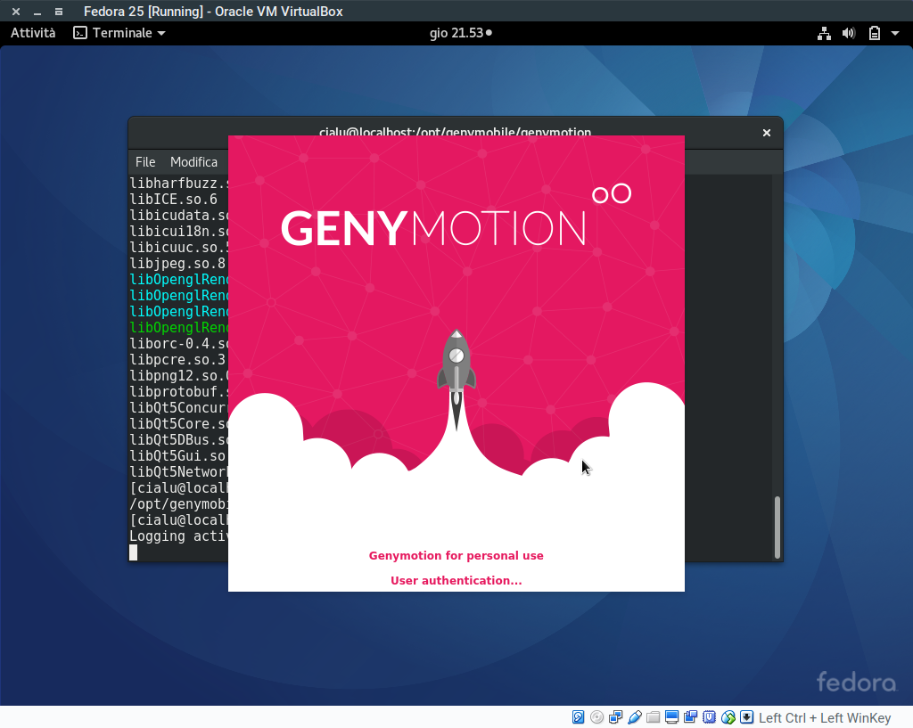 Genymotion launch