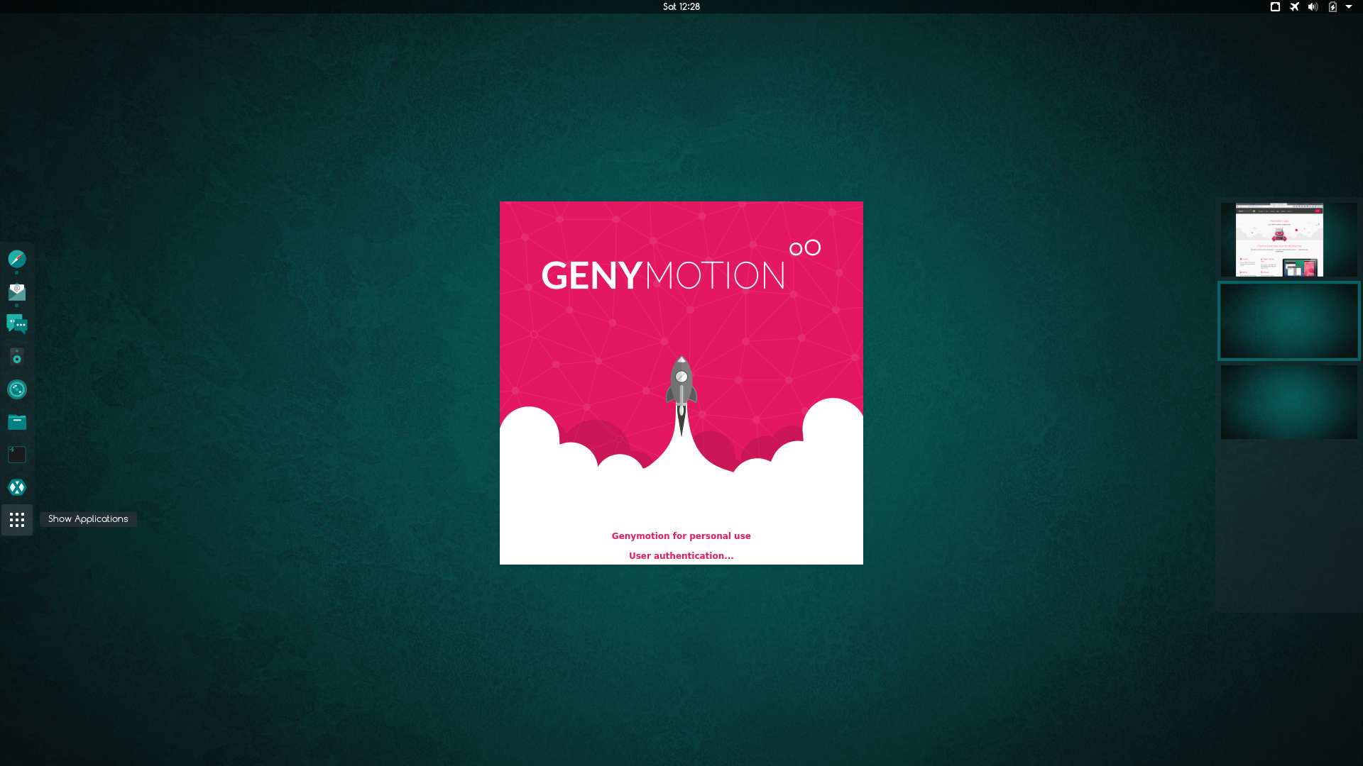 How to install Genymotion emulator on Fedora - CIALU NET