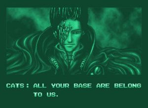 Zero Wing - All your base are belong to us