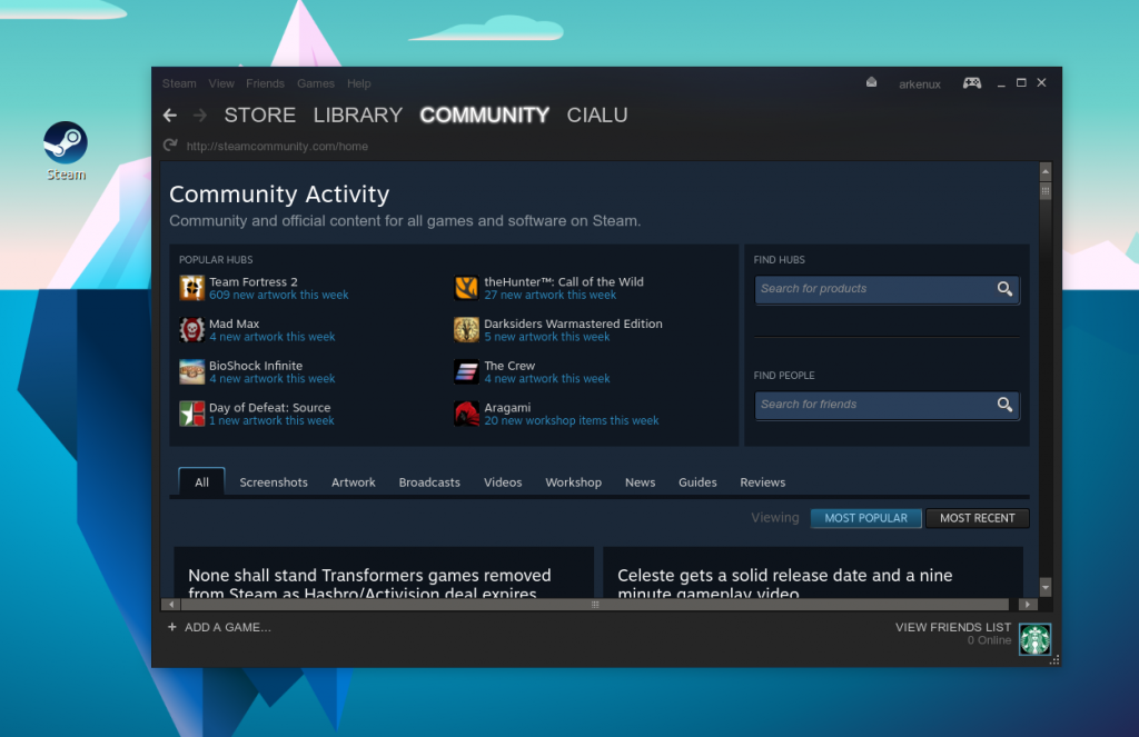 Steam - Instant Access to Games