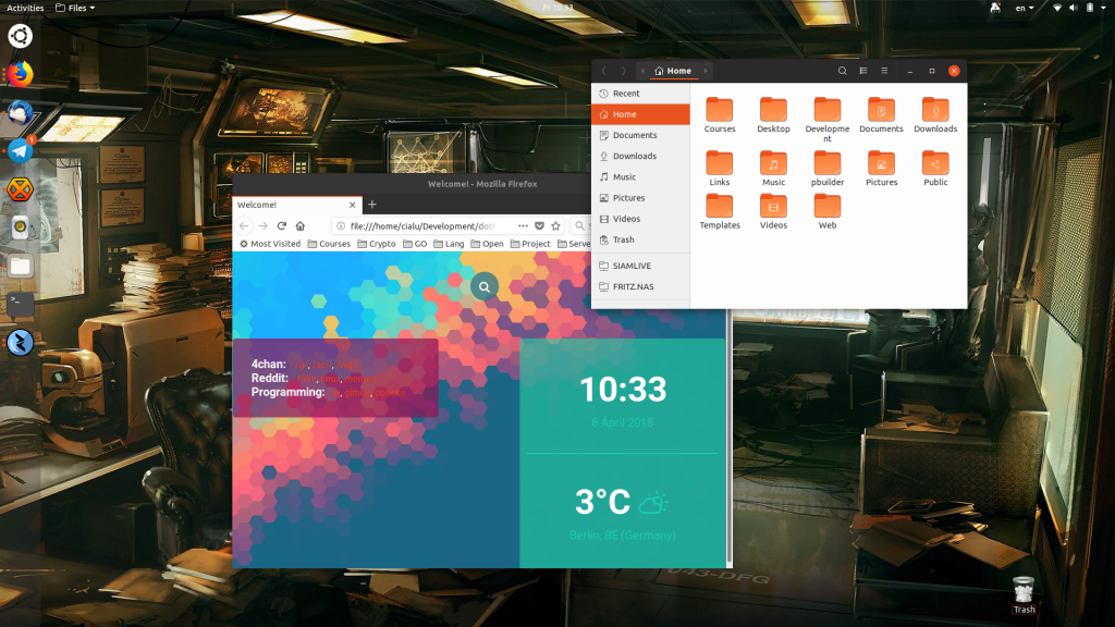 Communitheme is the new Ubuntu theme built by the Community