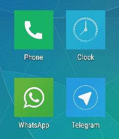 The Xiaomi ugly icons on Google Launcher