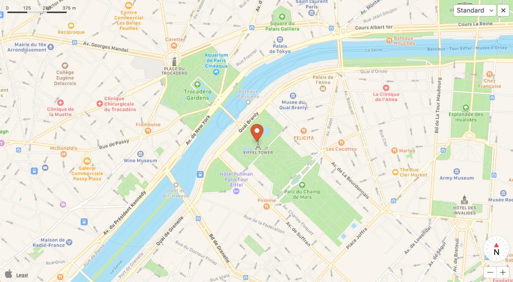 The new Apple Maps DuckDuckGo integration
