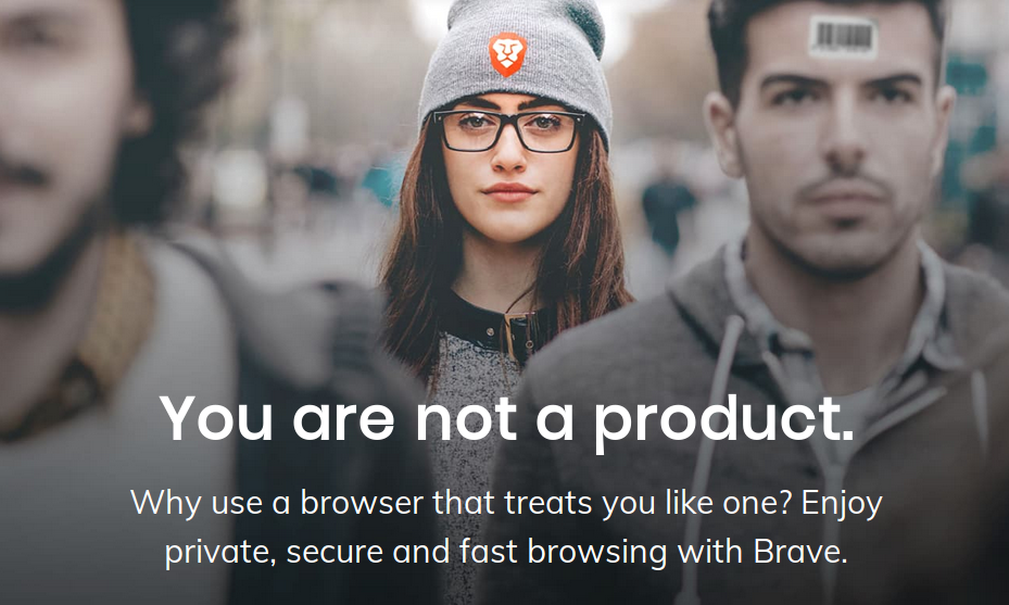 Enjoy private, secure and fast browsing with Brave