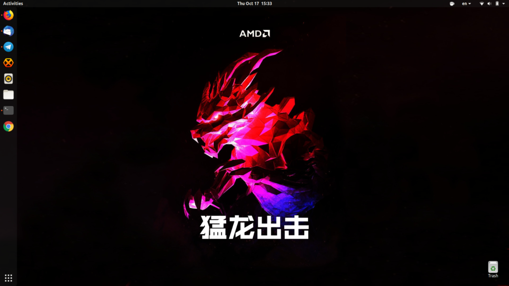 AMD-nix desktop and wallpaper - CIALU.NET