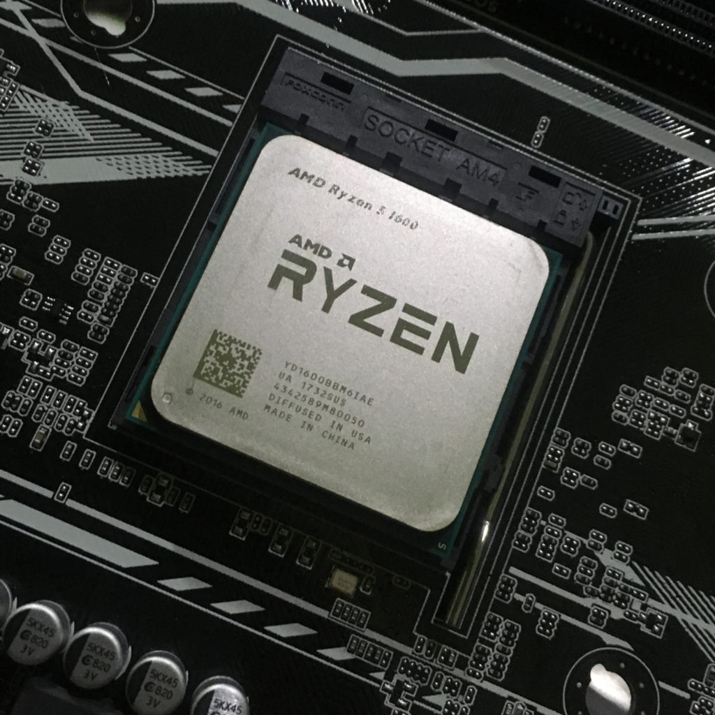 AMD Ryzen. No more problems with mining support
