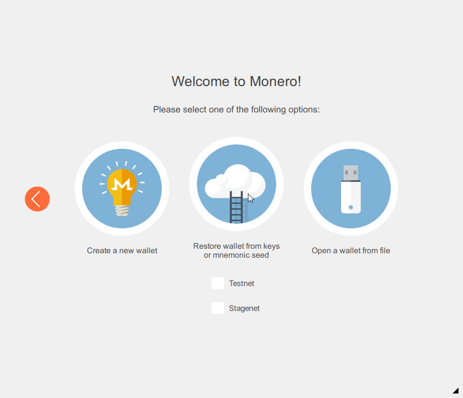 Monero GUI Wallet – How to restore the wallet