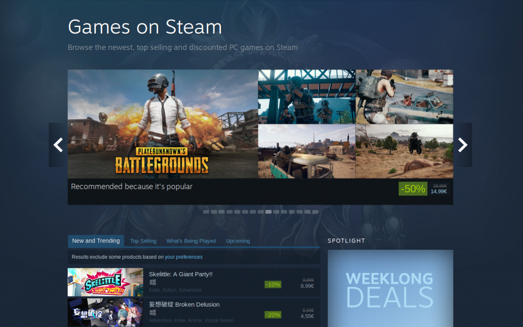 With Proton and Steam Play, Windows games now work on Linux!