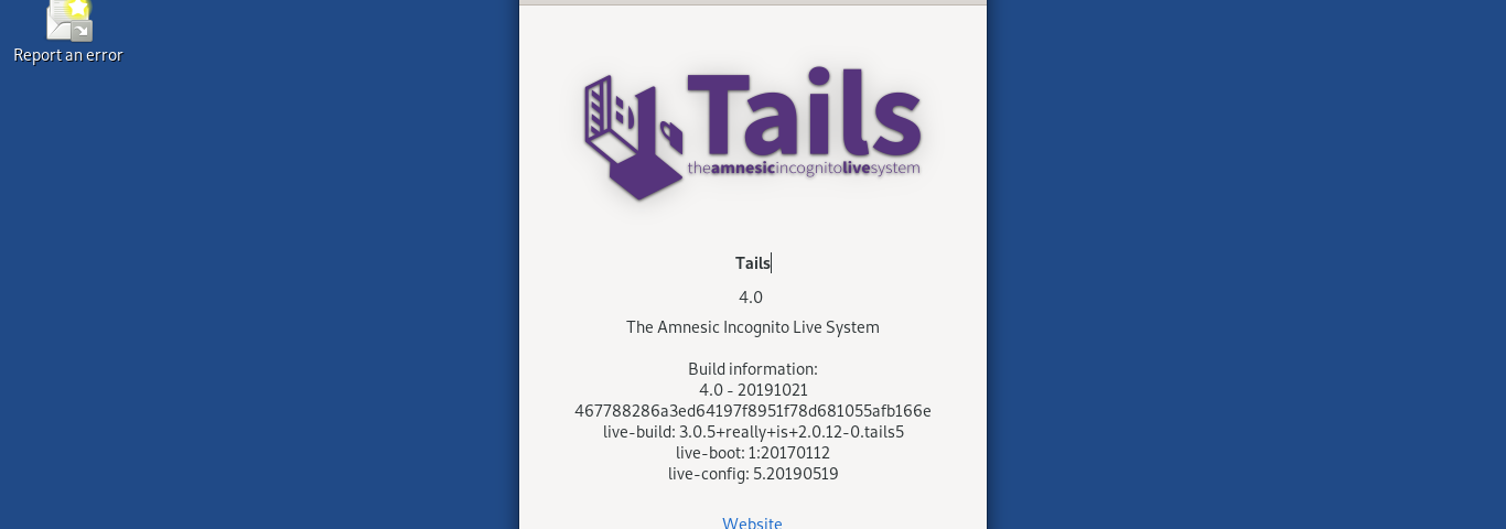 Tails | The Amnesic Incognito Live System