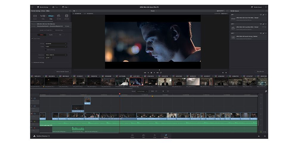 DaVinci Resolve is the new standard for high-end post-production and it is daily used by Hollywood studios