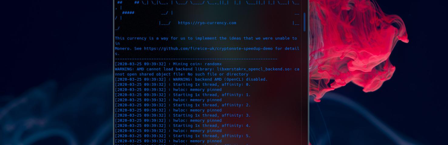 How to mine Monero RandomX on openSUSE Linux