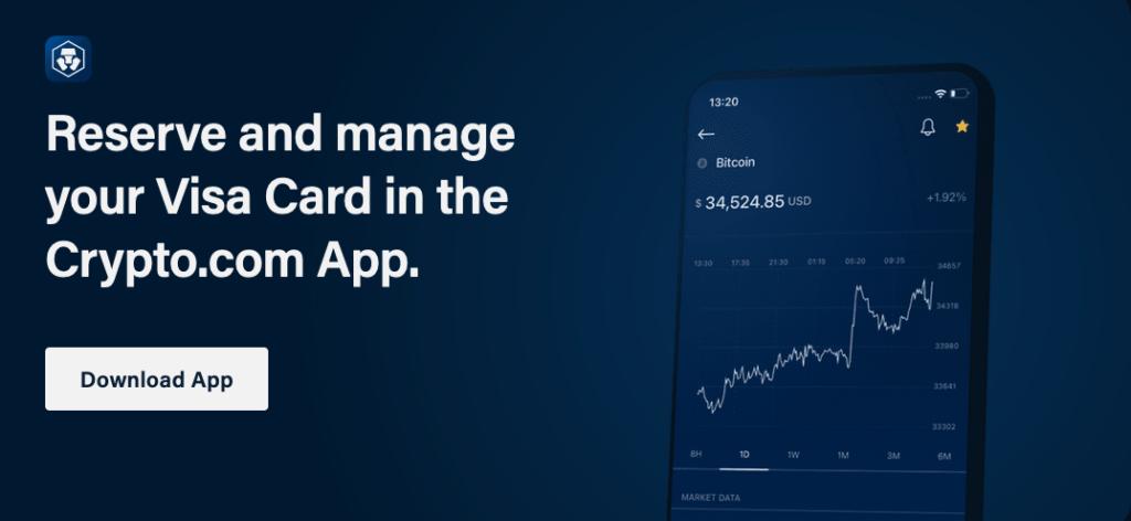 Apply for a Crypto.com VISA card - It's easy